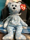 Ty Beanie Babies Bubbly the Blue bear, 2003, w/ Tag
