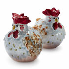 Jacques Pepin Collection for Sur laTable Handmade Rooster Salt  Pepper Shakers