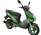 New Gas 150cc Scooter Moped Street Legal Motorcycle Ship to Door Green