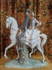 LLADRO ANDALUSIANS GROUP #4647 Andalucian Andaluces Spanish Couple Horse