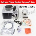 Upgrade Camshaft  150cc Big Bore Cylinder Piston Kit For YAMAHA YBR125 XTZ125