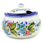 Hand painted Decorative Traditional Portuguese Ceramic Sugar Bowl 176