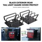 Black Exterior Rear LED Tail Light Guard Cover Grilles For Jeep Wrangler TJ YJ