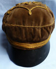 ORIGINAL CWW1 IMPERIAL GERMAN MILITARY DUELLING STUDENTS SOFT PEAKED CAP