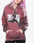 My Chemical Romance THE BLACK PARADE TIE DYE Girls Womens HOODIE NEW Authentic