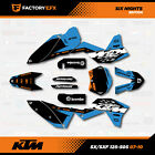 Racing Graphics Kit fits KTM 07-11 Sxf/Exc     125 150 200 250 300 450