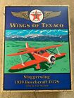 ERTL 1939 Beechcraft D-17s staggerwing WINGS OF TEXACO AIRPLANE original box #1