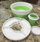 WEIGHT WATCHERS ON THE GO COLLAPSIBLE BOWL BPA FREE MICROWAVE LUNCH DINNER