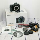 Canon EOS 6D 202MP Digital SLR Camera With 3 Batteries Charger Strap