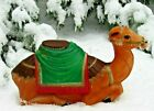 Vintage blow mold Empire Christmas Camel For Nativity 28 Outdoor Lighted w CORD