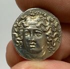 Ancient Greek SILVER COIN DRACHM THESSALY LARISSA 356 342 BC 29gr 185mm