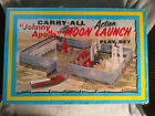 JOHNNY APOLLO MARX MOON LAUNCH ACTION PLAY SET VINTAGE TOY PLAY SET