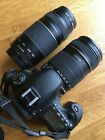 Canon Eos 60D digital camera witch 18-135 and 75-300 lenses