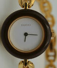 Ladies gucci 11/12.2 gold plated bracelet 25mm swiss made Wrist Watch
