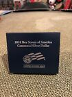 2010 US Mint Coin Boy Scouts of America Centennial Unc Silver Dollar