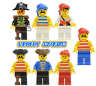 Lego Pirate Minifigures - Pirates 1 vintage minifigs - captain FREE POST