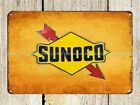 US Seller- Sunoco Auto Car Shop metal tin sign advertising wall decal