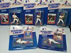 LOT 5 STARTING LINEUP MLB WILLIE McGEE ST LOUIS CARDINALS OZZIE SMITH TOM HERR