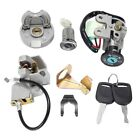 3XIgnition Switch Key Lock Gas Tank Cap Set for GY6 50Cc Jonway Taotao K2N9