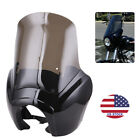 Smoke Quarter Black Fairing Kit For Harley Dyna Super Glide T-Sport FXDXT FXDF