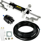 Hydraulic Outboard Steering System Boat Steering 300HP Cylinder Helm Kit 141cc