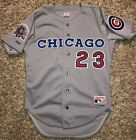 1990 Authentic Replica Chicago Cubs Ryne Sandberg Road Jersey Size 42 All Star