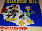 VINTAGE SUNOCO OIL MICKEY MOUSE & DONALD DUCK WAR OUTFIT 12