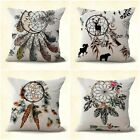 set of 4 native tribe dreamcatcher cushion covers pillow couch