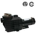 1 1 2HP 115 230v INGROUND Swimming POOL PUMP MOTOR w Strainer 2 thread NPT