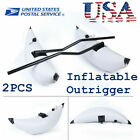 2 Pcs Inflatable Outrigger Stabilizer for Kayak Canoe Fishing Standing USA