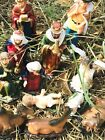 Nativity Scene Set Christmas Figures Polyresin Figurines Baby Jesus Nio Jesus