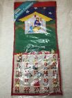 Advent Calendar Nativity Scene Pockets Of Learning Vintage 305 X 145 Large