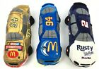Nascar Beanie Racers Set of 3 (Rusty Wallace, McDonald's, Mac Tonight)