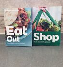 Weight Watchers WW MAIN Food Points Plus SHOP Guide + EAT Out Books Menu Choices