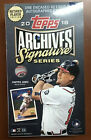 2018 Topps Archives Signature Series Retired Edition Hobby Box Baseball Sealed