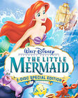 The Little Mermaid DVD 2006 2 Disc Set Platinum Edition Slipcover Included