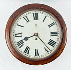 English oak 14 dial chain fusee dial clock  1900 Original Restored Coventry
