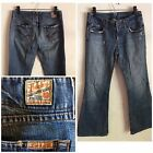 Lucky Brand Vintage Showstopper Jean sz 6 28 Low Rise Flared Distressed USA
