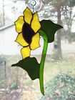 Handmade Stained Glass Flower SUNFLOWER Suncatcher SNF46
