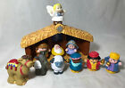 Fisher Price Little People Christmas Nativity Set 11 Pieces