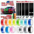 Gloss Color Racing Stripes Vinyl Wrap For Chevy Camaro Stripe Sticker 10FT 20FT