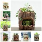 Garden Sky Succulent Planter Flower Plant Bonsai Pot Herb Trough Box Basket HOT