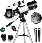 Toyerbee Telescope For Kids Beginners 70Mm Aperture 300Mm Astronomical Refract