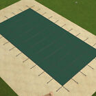 VEVOR Safety Pool Cover 16X30 FT Rectangular In Ground Clean Winter Cover Mesh