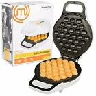 MasterChef Bubble Waffle Maker Electric Non stick Hong Kong Egg Waffler Iron