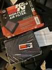 New K&N AIR FILTER 33-2233 JEEP COMMANDER LIBERTY GRAND CHEROKEE