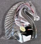 Murano Venezia 5 1 4 Art Glass HORSE HEAD Hand Made w Italy Label