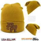 Timber New Color PR Embroidery Hat Puerto Rico Skull Winter Knit Cuffed Beanie