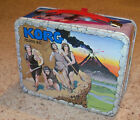 Vintage 1975 Korg 70000 BC Metal Lunchbox Hanna Barbera Lunch Box Thermos Co