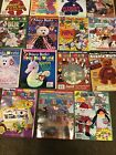 15 Mary Beth's Beanie World Magazines 1998 & 1999 Perfect Shape,Posters Included